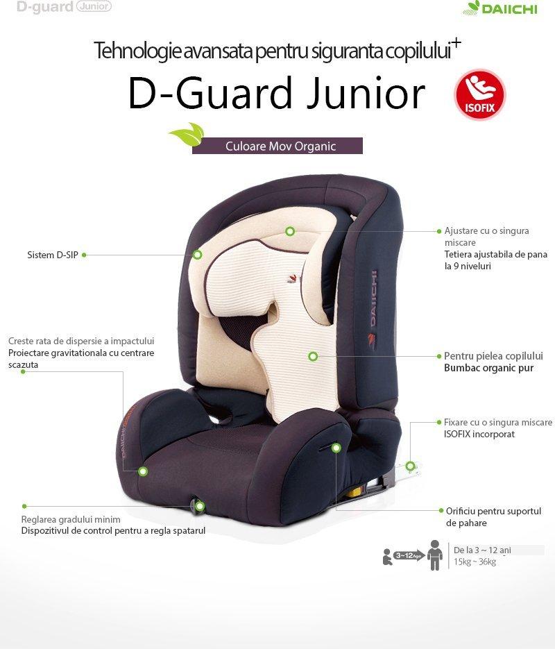 Scaun auto Daiichi D-Guard Junior