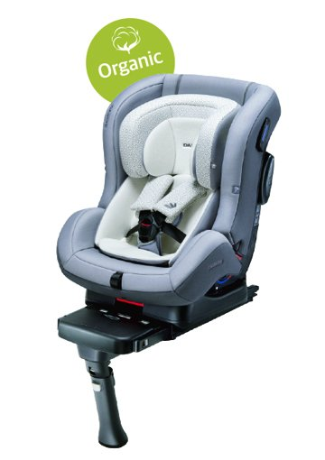 DAIICHI CAR SEAT FIRST7 PLUS ORGANIC GRAY FIX