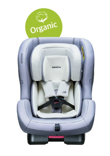 DAIICHI CAR SEAT FIRST7 PLUS ORGANIC GREY